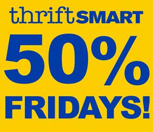 Thrift Smart 50 off