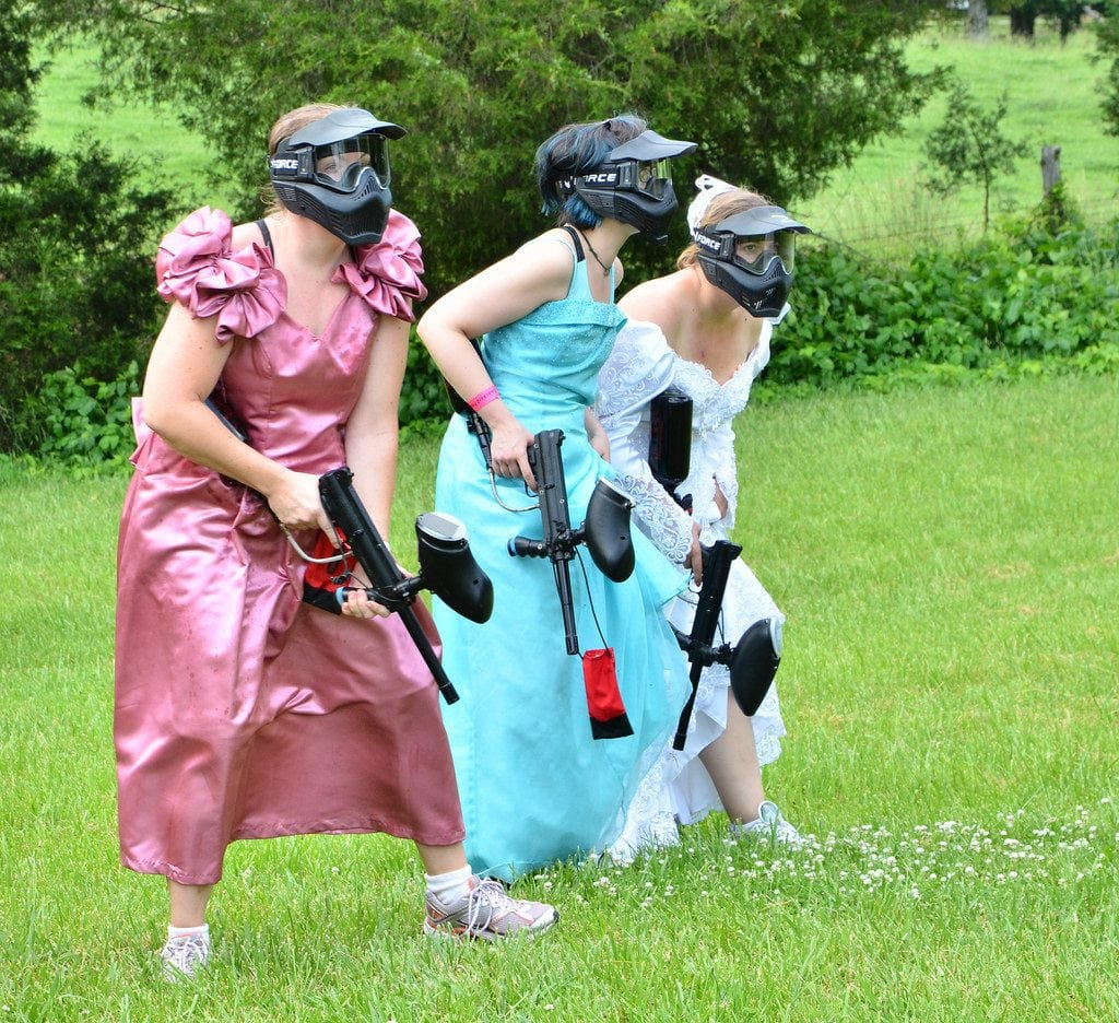 paintball bachelorette