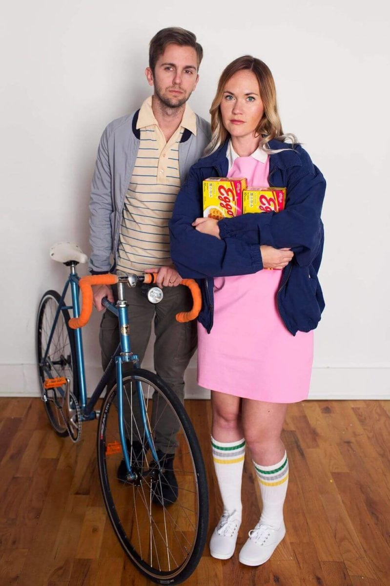 stranger things costume couple