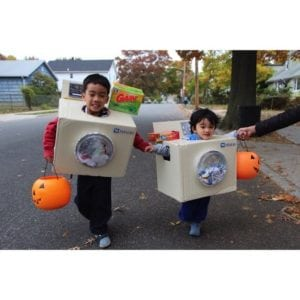 washer and dryer costume