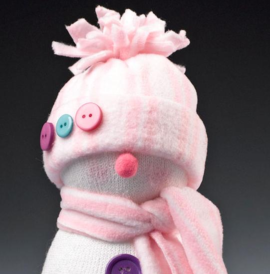 sock Christmas ornament idea